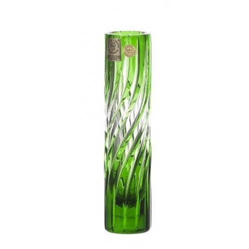 Váza  Zita, barva zelená, výška 155 mm