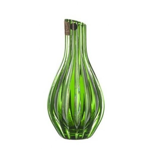 Váza  Sly, barva zelená, výška 150 mm