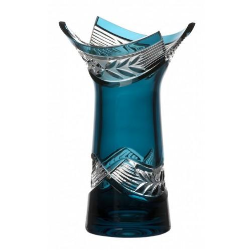 Váza  Laurel, barva azurová, výška 185 mm