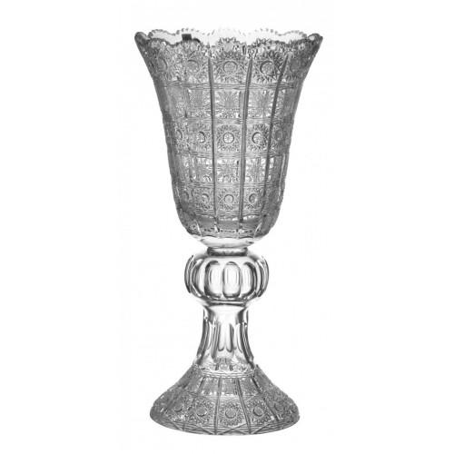 Váza 500PK, barva čirý křišťál, výška 430 mm