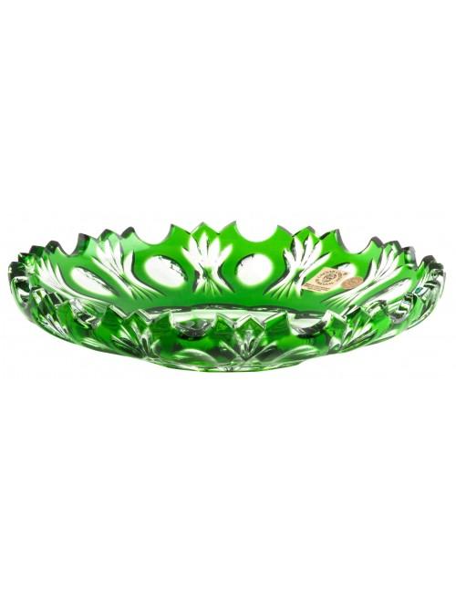 Talíř  Dandelion, barva zelená, průměr 180 mm
