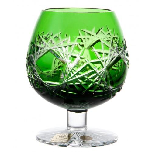 Sklenička Brandy Frost, barva zelená, objem 230 ml