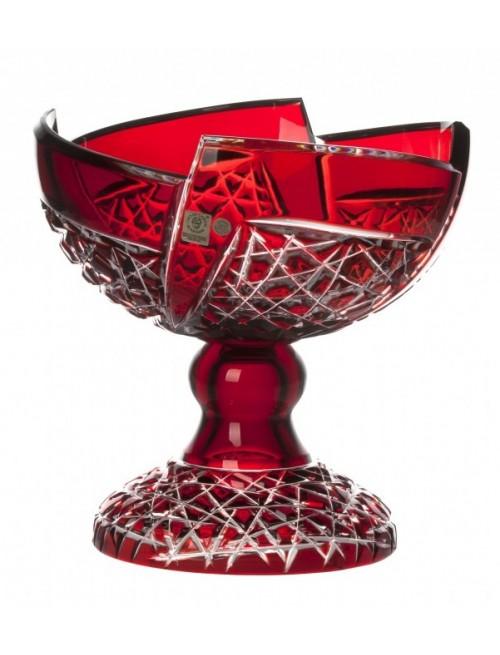Nástolec  Fan, barva rubín, průměr 240 mm