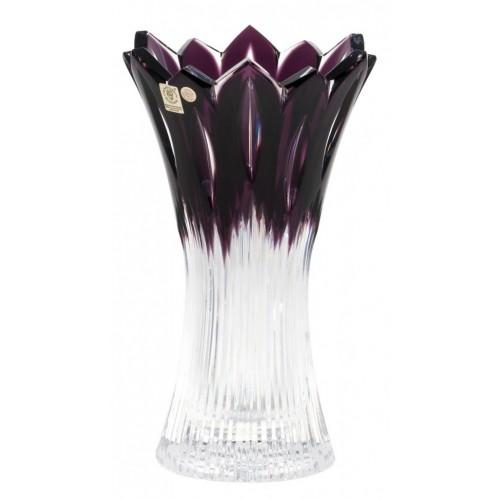 Váza  Flame, barva fialová, výška 255 mm