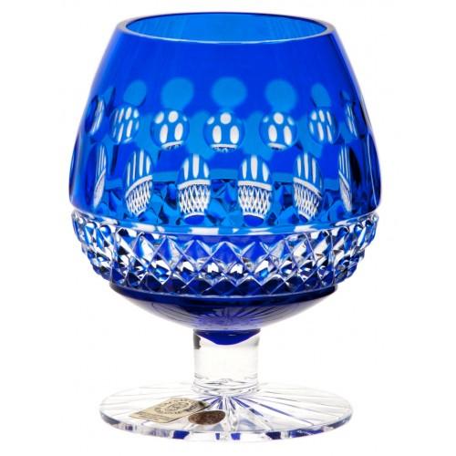 Skleničk Brandy Tomy, barva modrá, objem 230 ml