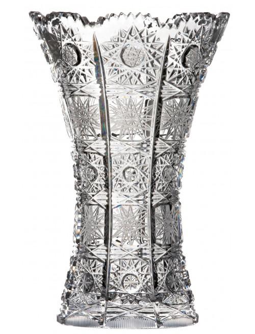 Váza 500PK, barva čirý křišťál, výška 180 mm