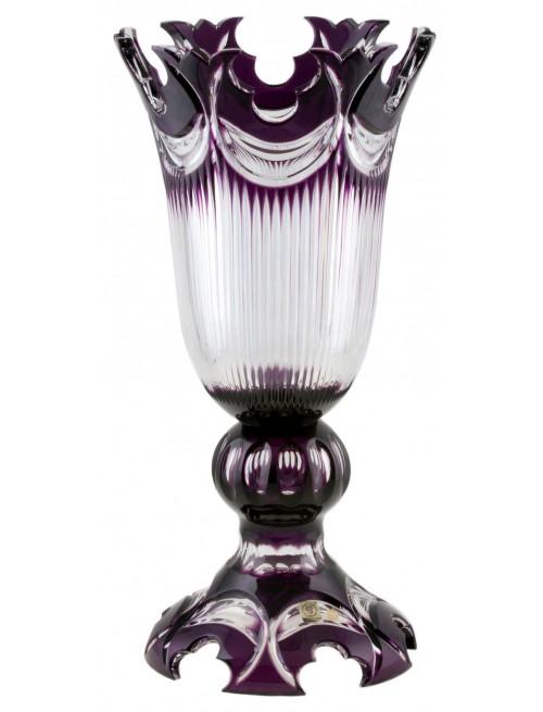 Váza Diadem, barva fialová, výška 430 mm