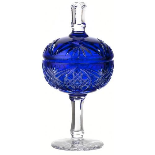 Pohár Beata, barva modrá, výška 315 mm
