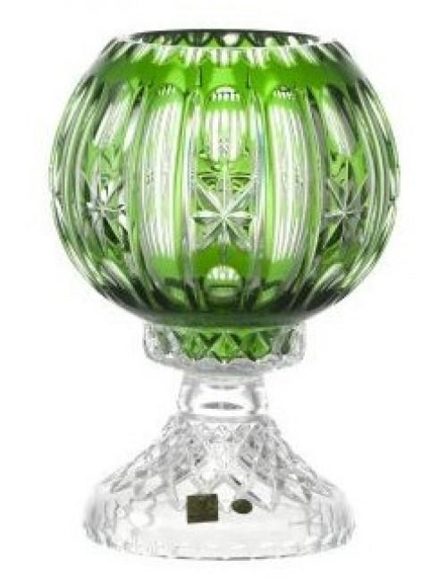 Lampa  Malaga, barva zelená, výška 225 mm