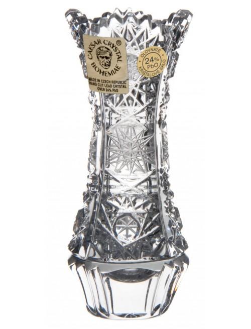 Váza 500PK, barva čirý křišťál, výška 90 mm