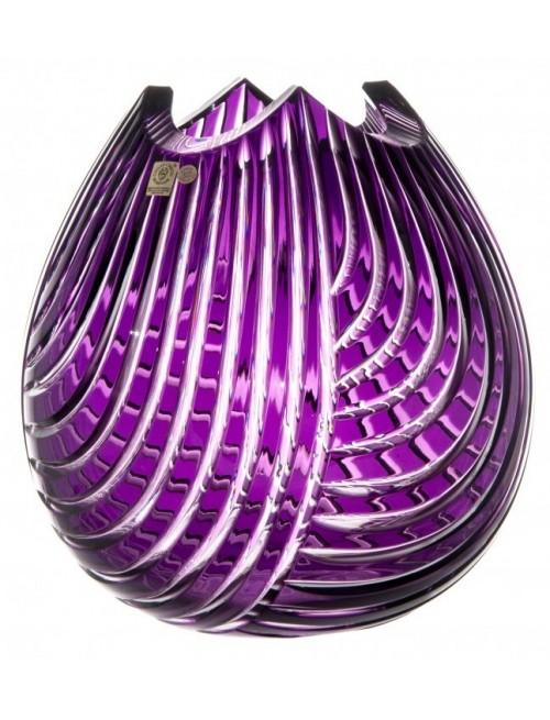 Váza  Linum, barva fialová, výška 280 mm