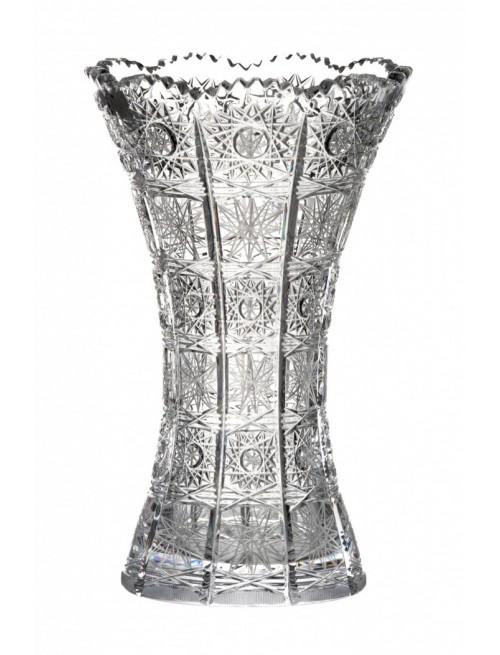 Váza 500PK, barva čirý křišťál, výška 280 mm