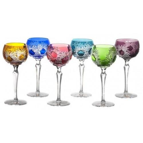 Set Sklenice na víno Frost 190, barva mix barev, objem 190 ml