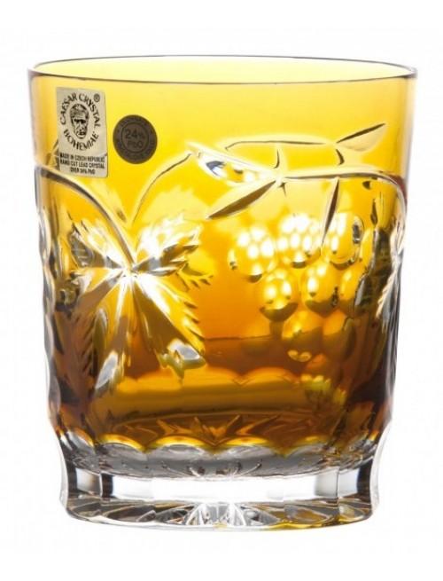 Sklenička Grapes, barva amber, objem 290 ml