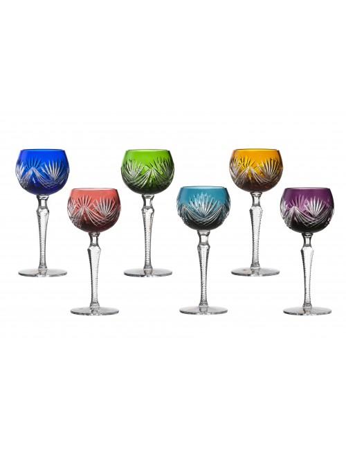 Set sklenice na víno Janette, barva mix barev, objem 190 ml