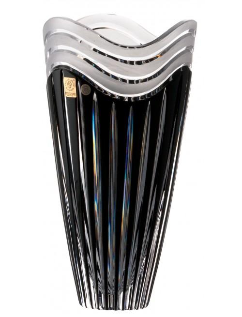 Váza Dune, barva černá, výška 270 mm