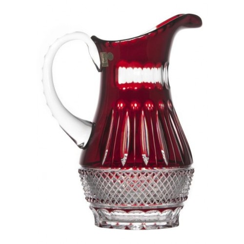 Džbán  Tomy, barva rubín, objem 1300 ml
