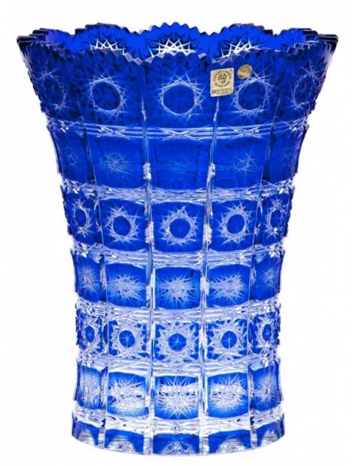 Váza Paula II, barva modrá, výška 255 mm