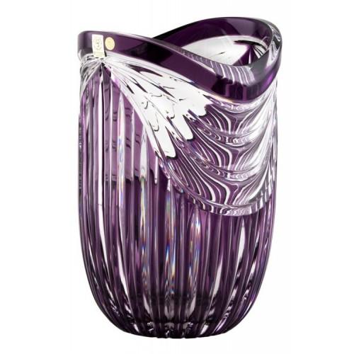 Váza  Harp, barva fialová, výška 250 mm