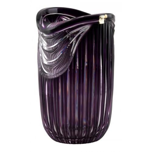 Váza  Harp, barva fialová, výška 300 mm
