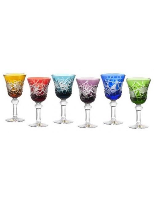 Set Sklenice na víno Mars 180, barva mix barev, objem 180 ml