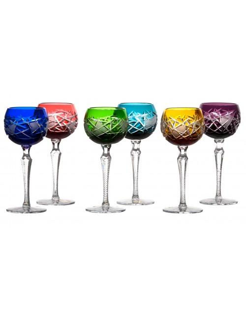 Set Sklenice na víno Mars 190, barva mix barev, objem 190 ml