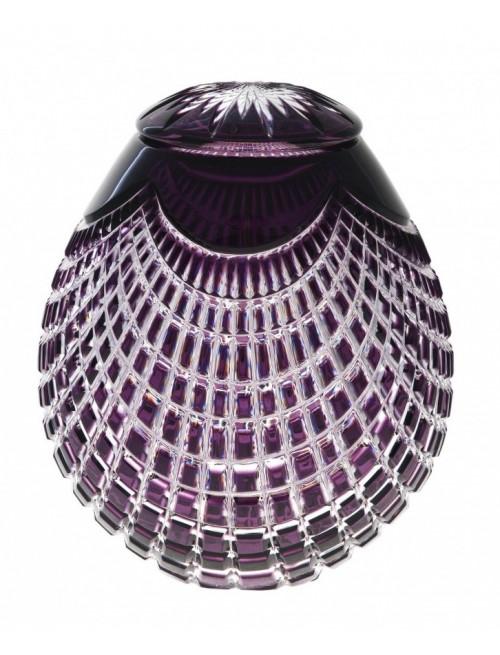 Urna  Quadrus, barva fialová, velikost 230 mm