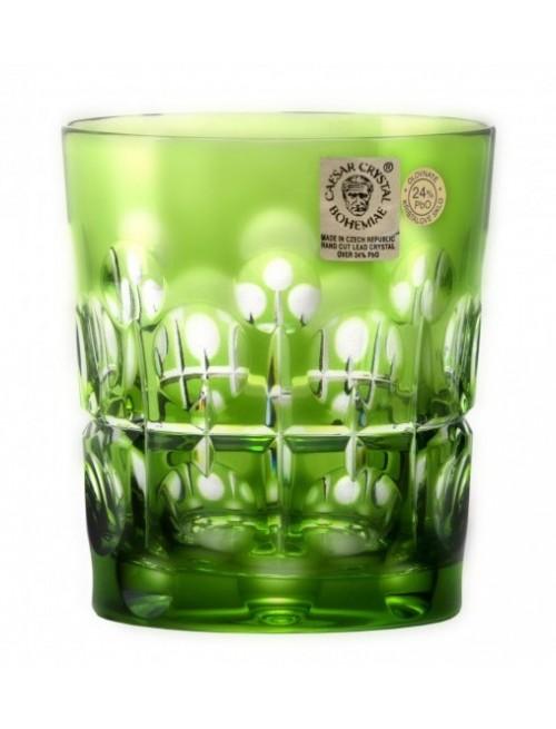 Sklenička Brisk, barva zelená, objem 290 ml