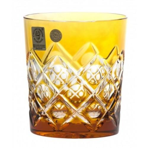 Sklenička Sultan, barva amber, objem 290 ml