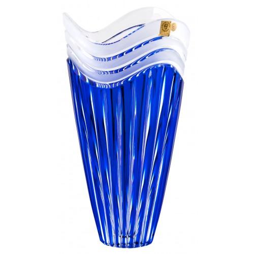 Váza Dune, barva modrá, výška 270 mm