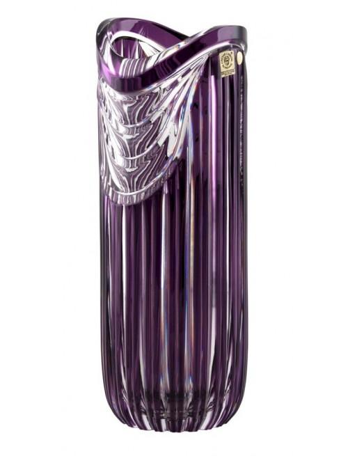 Váza  Harp, barva fialová, výška 320 mm
