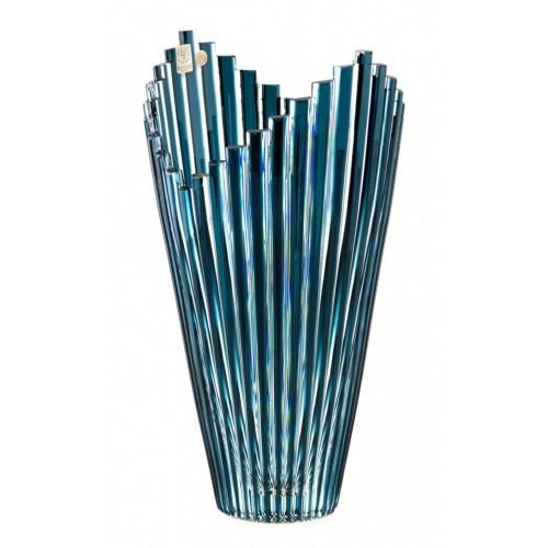 Váza  Mikado, barva azurová, výška 310 mm