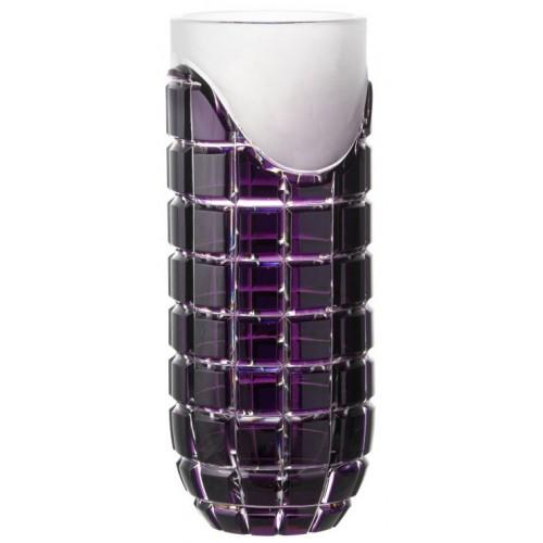 Váza Neron, barva fialová, výška 300 mm