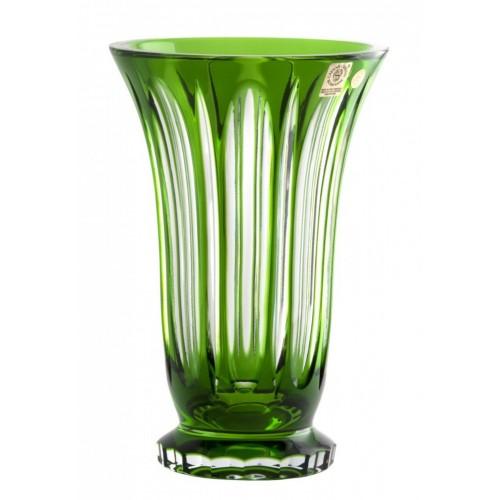 Váza  Visu, barva zelená, výška 205 mm