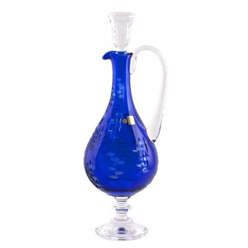Karafa  Silentio, barva modrá, objem 1500 ml