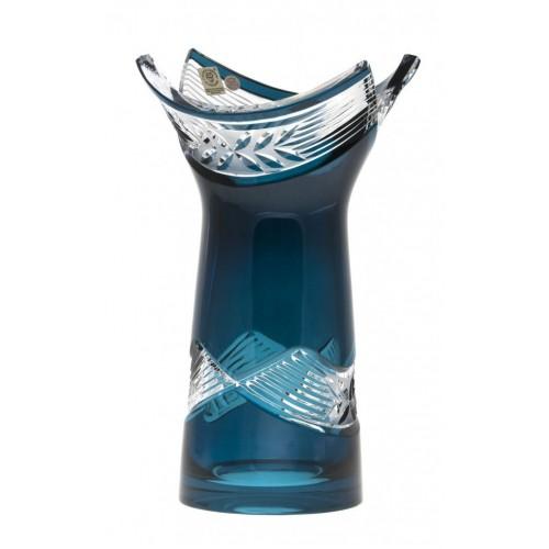Váza  Laurel, barva azurová, výška 255 mm