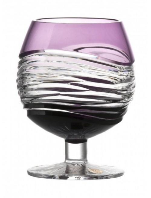 Sklenička Brandy  Poem, barva fialová, objem 230 ml