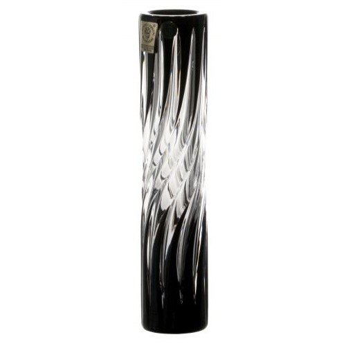 Váza Zita, barva černá, výška 180 mm