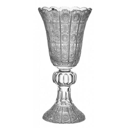 Váza  500PK, barva čirý křišťál, výška 505 mm