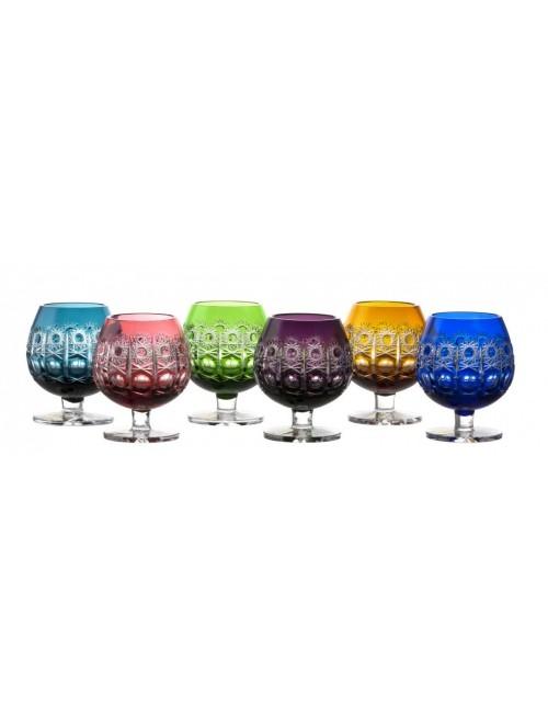 Set Sklenička brandy Petra, barva mix barev, objem 230 ml