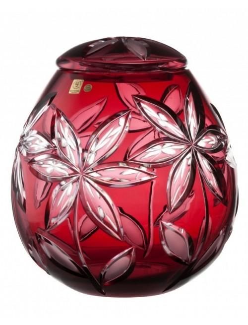 Urna  Linda, barva rubín, velikost 290 mm