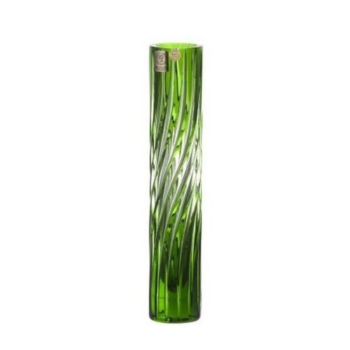 Váza  Zita, barva zelená, výška 230 mm