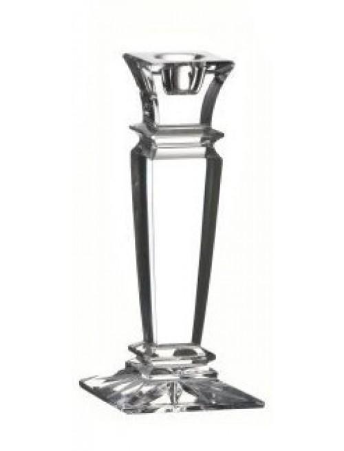 Svícen Wista, barva čirý křišťál, výška 150 mm