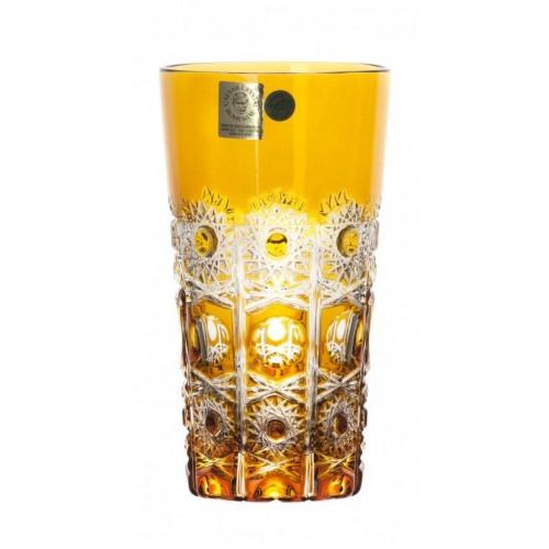 Sklenička Petra, barva amber, objem 320 ml