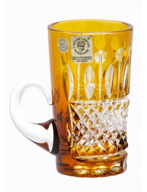 Hrneček  Tomy, barva amber, objem 100 ml