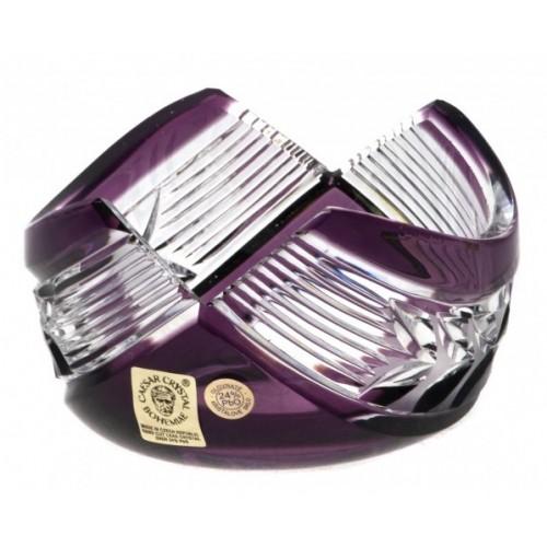 Miska Laurel, barva fialová, průměr 100 mm