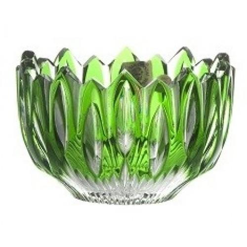 Miska Flame, barva zelená, průměr 110 mm