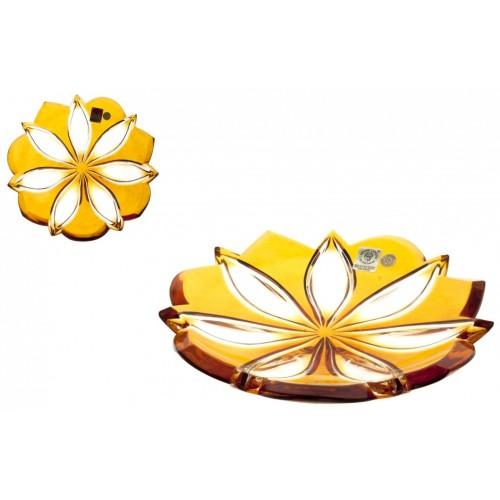 Talířek  Linda, barva amber, průměr 180 mm
