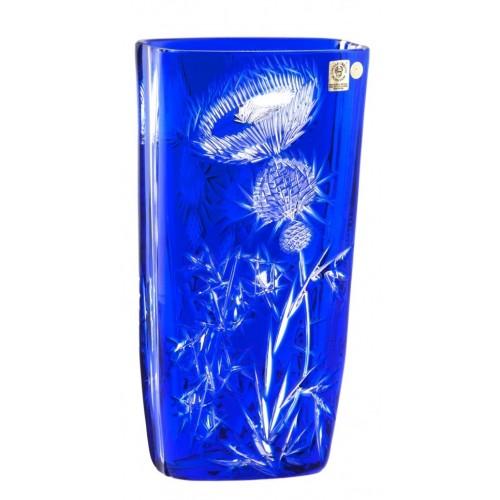 Váza  Thistle, barva modrá, výška 255 mm