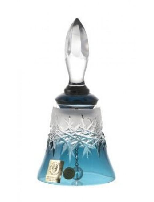 Zvonek  Hoarfrost, barva azurová, výška 126 mm